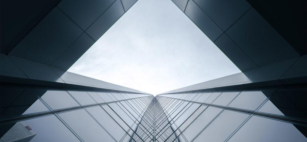 Gebäude Skyline Industrie