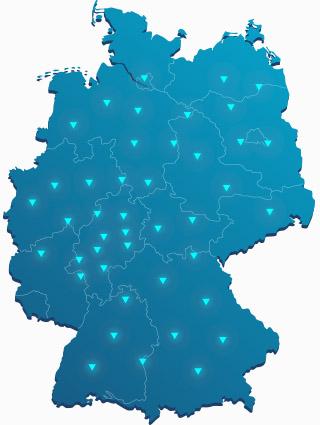 Deutschland Karte Enerplex