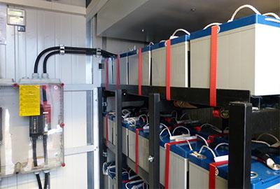 USV Anlage Container Containerlösung Batterieanlagen