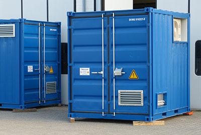 USV Container Containerlösung USV-Anlage Notstromtechnik
